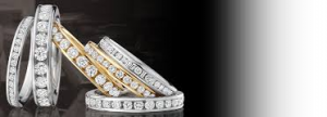 The beauty of eternity rings