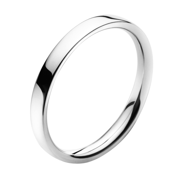 georg jensen magic platinum ladies wedding band
