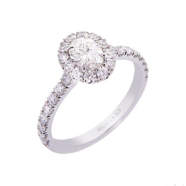 certificated-oval-cut-diamond-halo-set-engagement-ring
