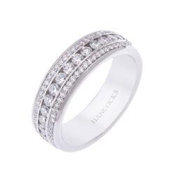 ladies diamond wedding ring