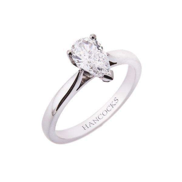 g-colour-platinum-pear-cut-diamond-ring