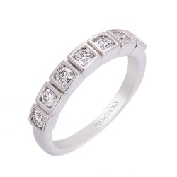 14ct white gold diamond set eternity ring HC 100719 73