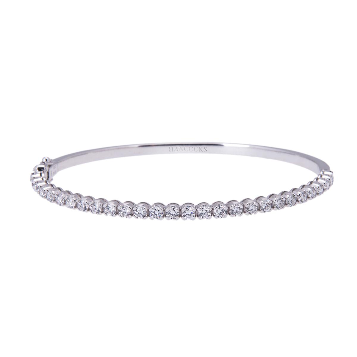 brilliant-cut-diamond-set-bangle