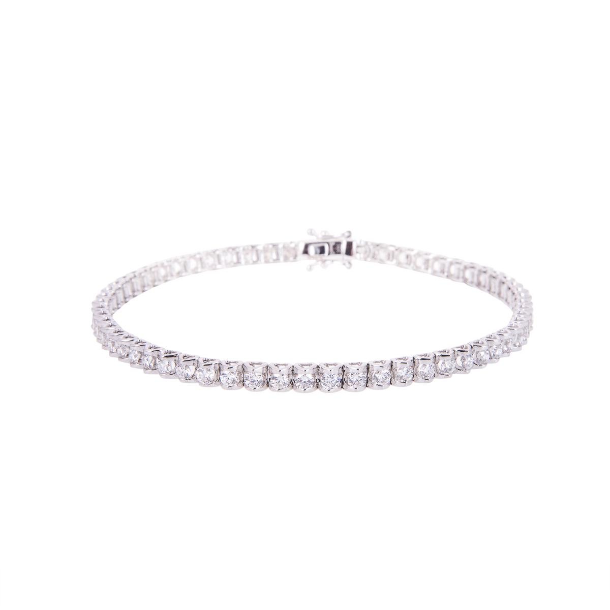 heart-shaped-collect-brilliant-cut-diamond-bracelet