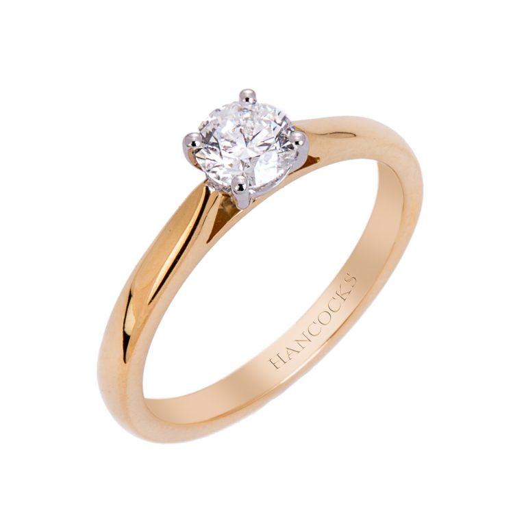 single-stone-yellow-gold-engagement-ring