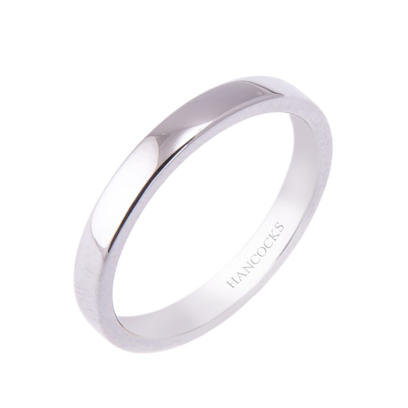 court-shaped-ladies-platinum-wedding-band