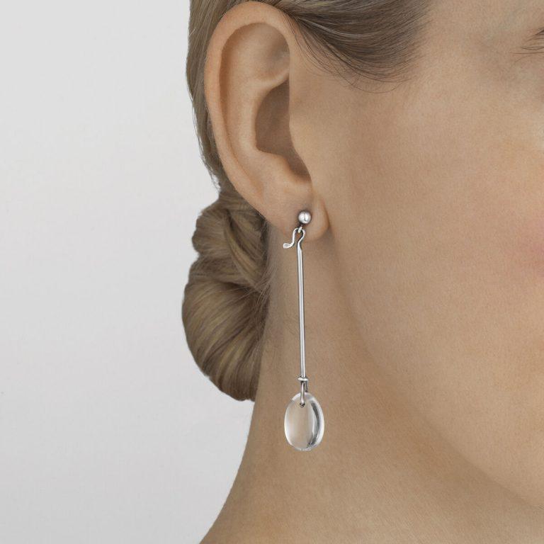 OnModel__3539026 Dew Drop earring rock crystal