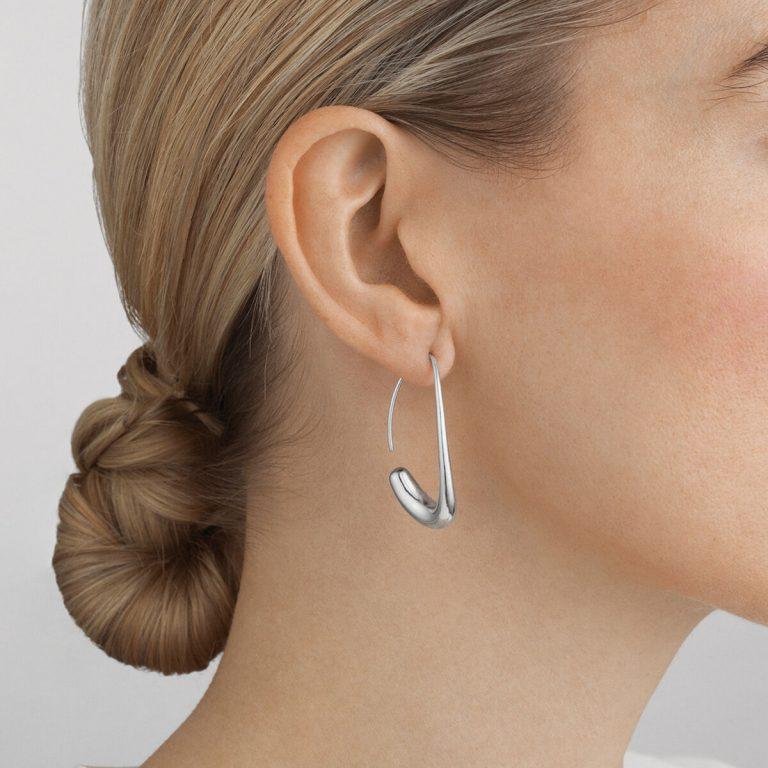 OnModel__10016947 OFFSPRING open earhoop silver