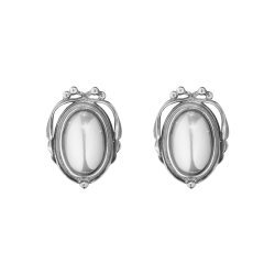 2017 heritage earclips oxidesed sterling silver