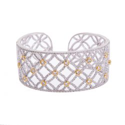 diamond-set-bangle