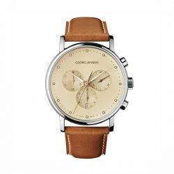 Georg Jensen Koppel chronograph watch