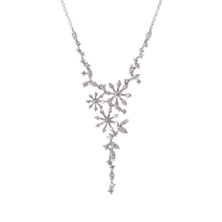 diamond-flower-design-white-gold-necklace