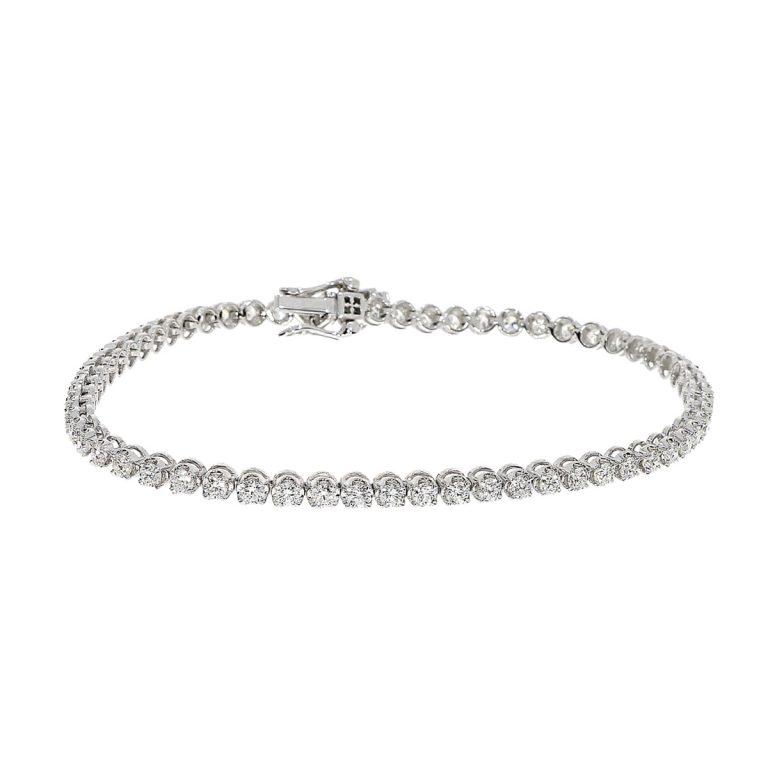 F1096 diamond line bracelet