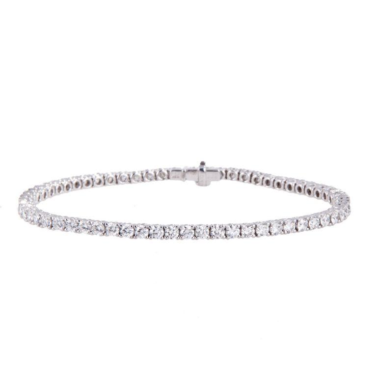 HX 91 diamond line bracelet 4.00ct