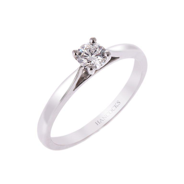 platinum-0.30ct G-VS1-diamond-ring