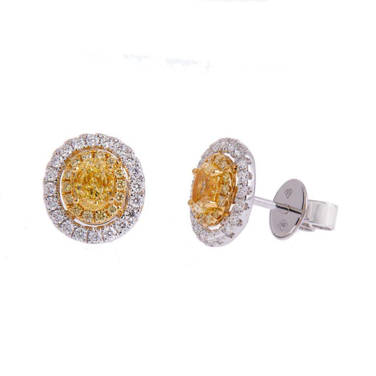 yellow-diamond-earrings