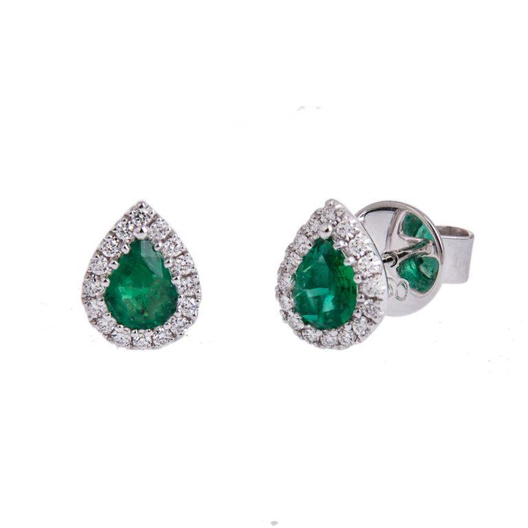 pear-cut-emerald-stud-earrings