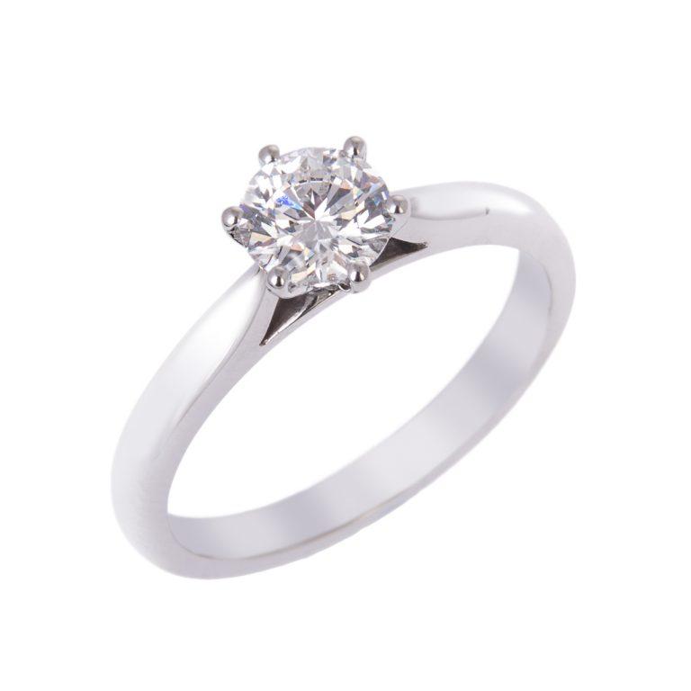 0.70ct-brilliant-cut-diamond-ring