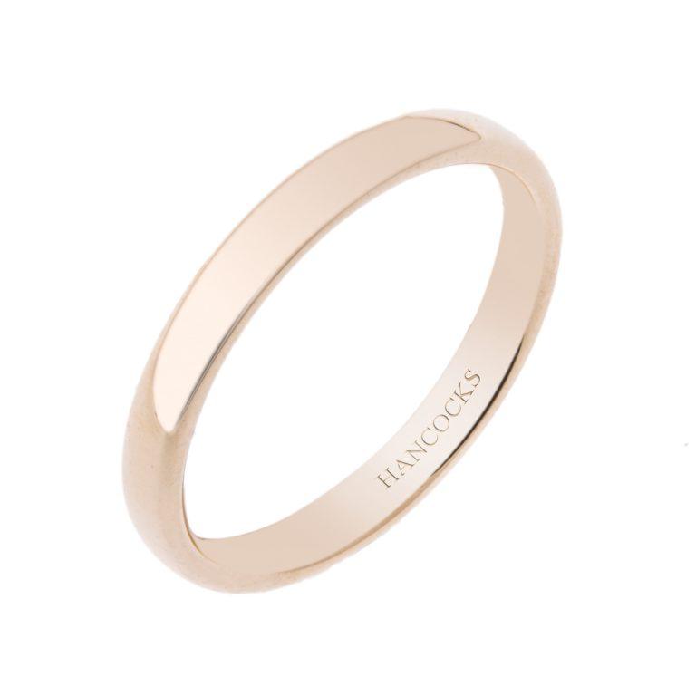 Ladies 18ct Yellow Gold Wedding Ring