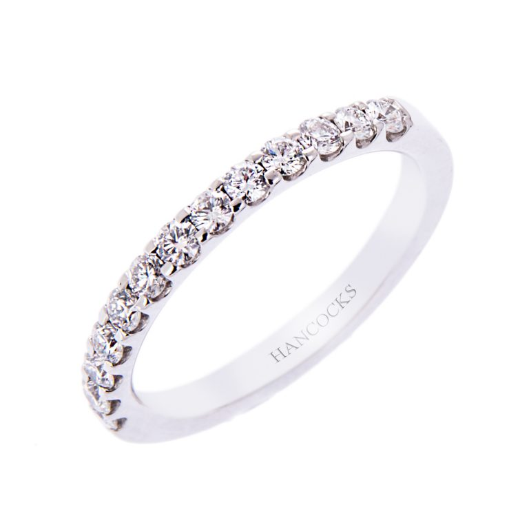 New Brilliant Cut Diamond Set Wedding Ring