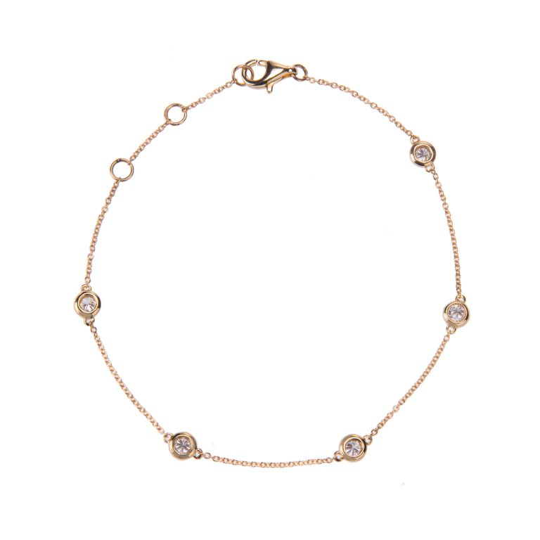 yellow-gold-diamond-bracelet