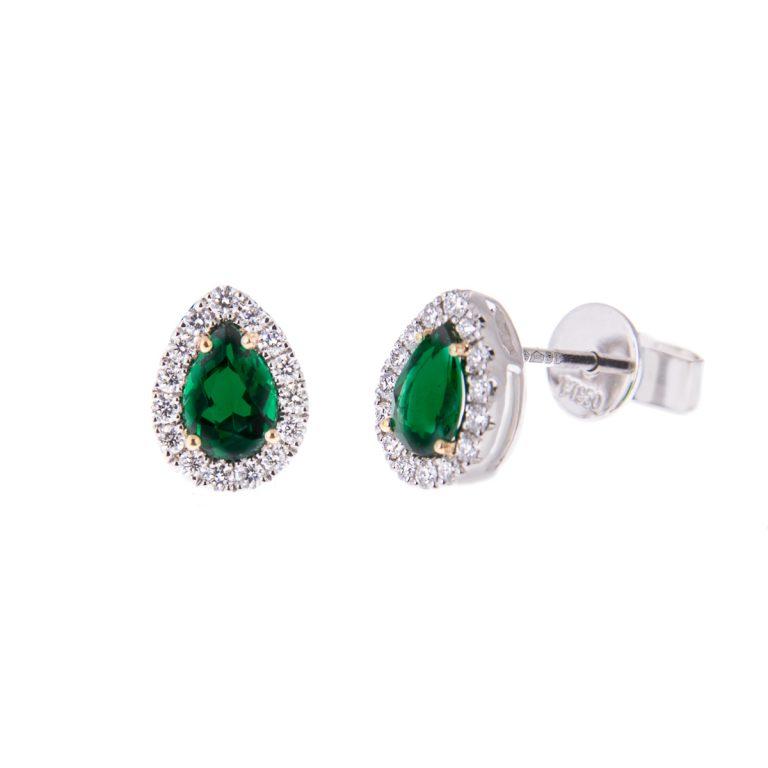 emerald-and-diamond-earrings