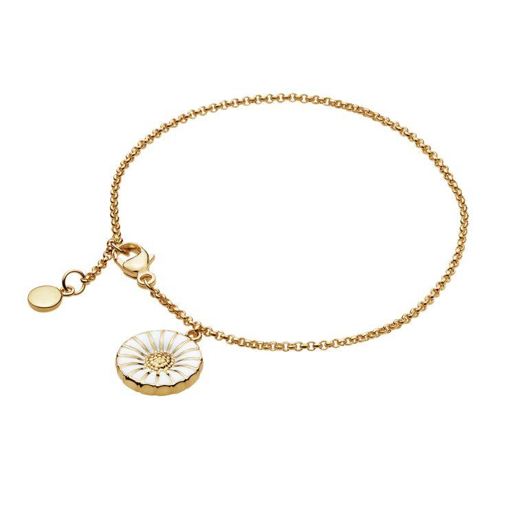 Georg Jensen Daisy Charm Bracelet