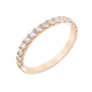 BH090721 23 1 Yellow Gold Ladies Diamond Set Wedding Ring