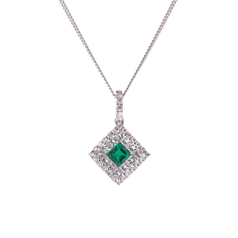 emerald-and-diamond-pendant