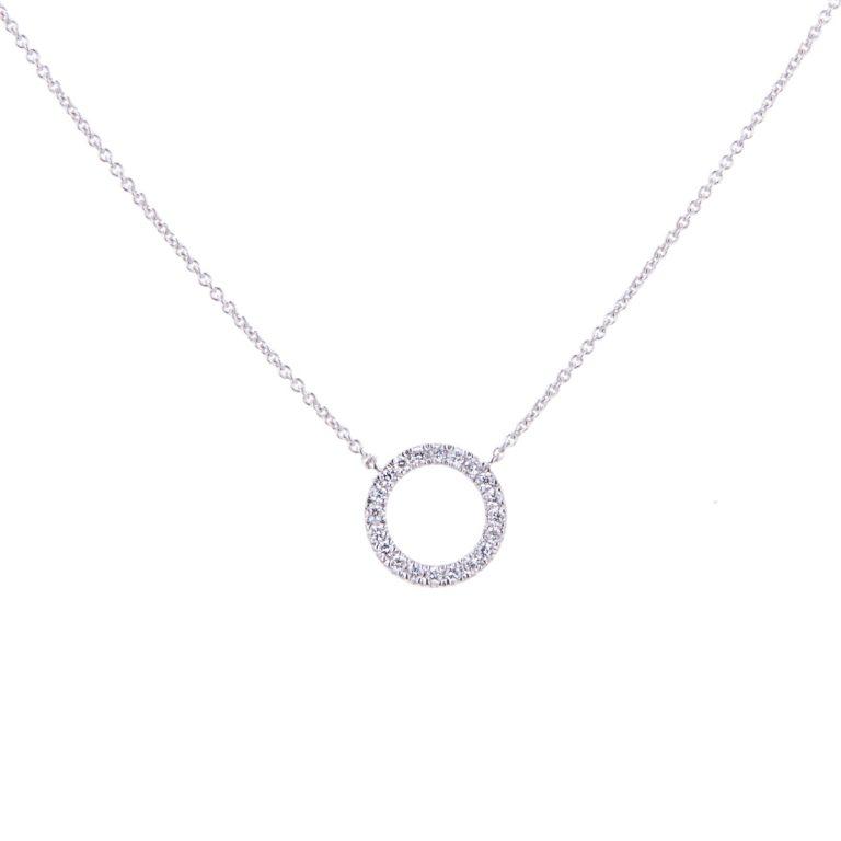 diamond-set-circle-pendant