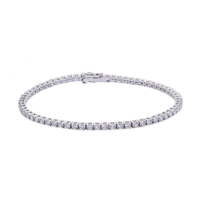 g-colour-brilliant-cut-diamond-line-bracelet