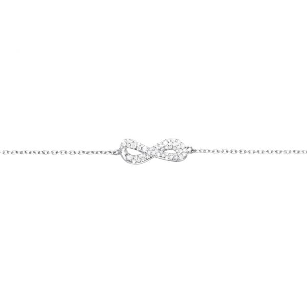 diamond-set-infinity-bracelet