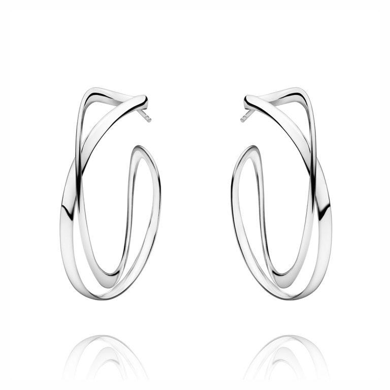 3539267 infinity silver earhoop 453 large