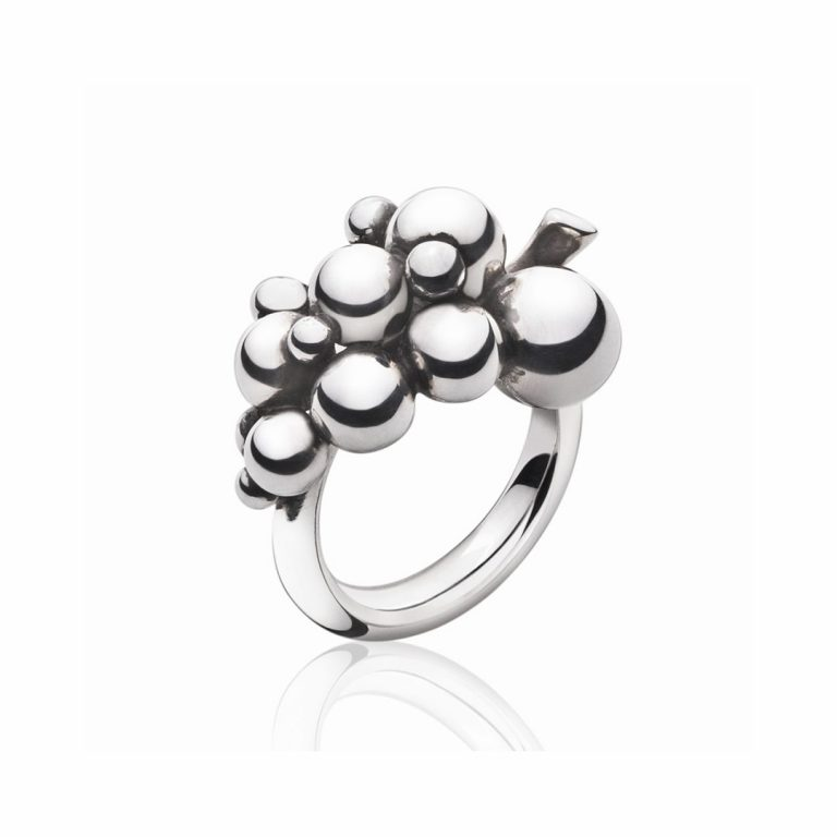 3558680 moonlight grapes silver ring