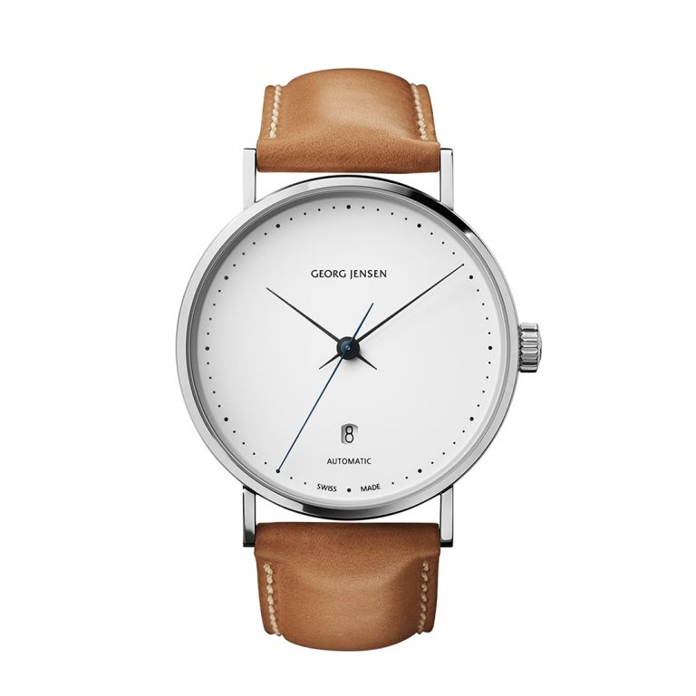 3575563 koppel 41mm gents watch white dial hancocks manchester