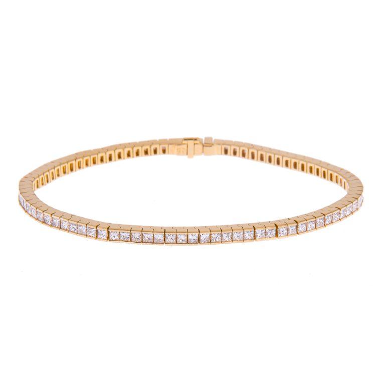 H1200 20 classic diamond line bracelet