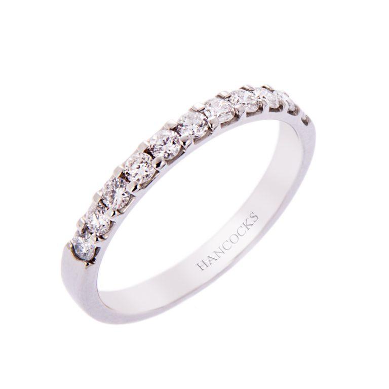 H140920 29 diamond set wedding ring hancocks manchester