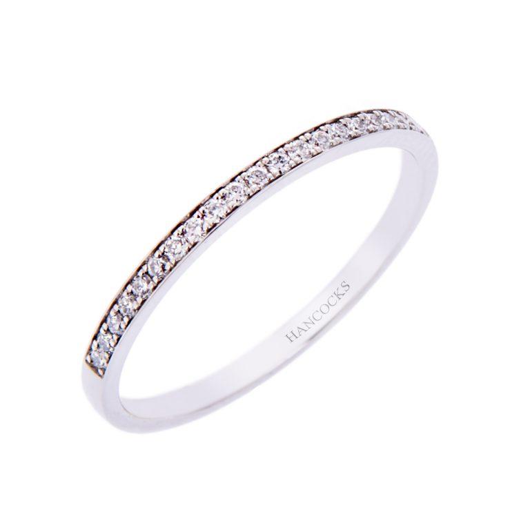 H140920 32 fine ladies dia set wedding ring