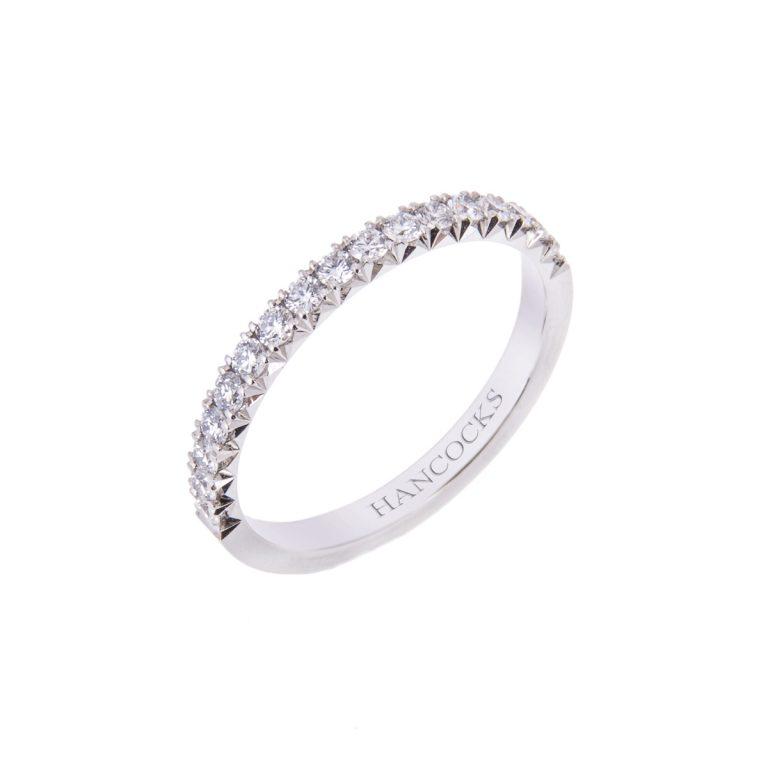 HANCVIII 27 ladies diamond set wedding ring