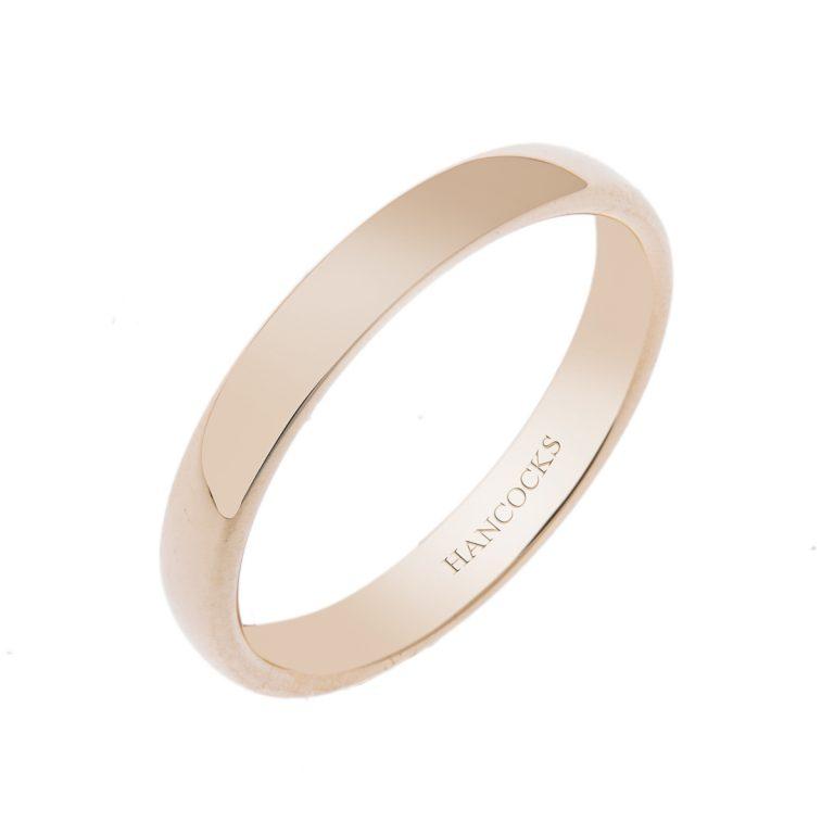 HE 44 ladies 18ct yellow gold wedding ring