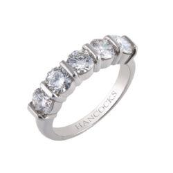brilliant cut diamond eternity ring