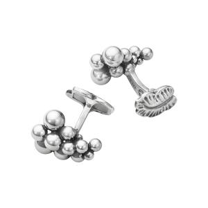georg jensen moonlight grapes silver cufflinks