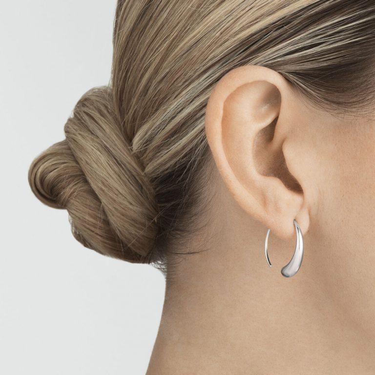 OnModel__10015603 MERCY large earhoop silver