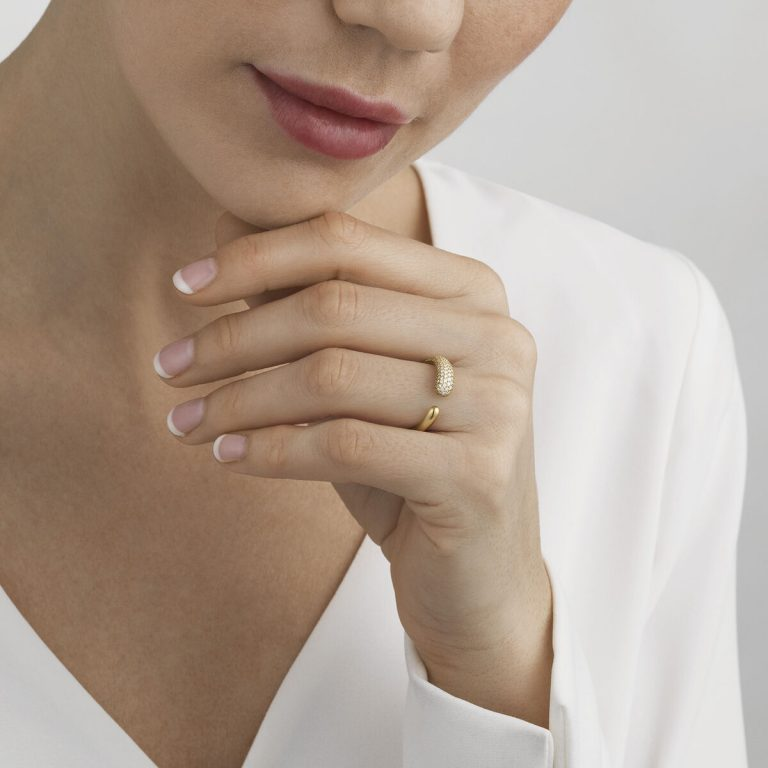 OnModel__10017798 MERCY mini ring gold pave