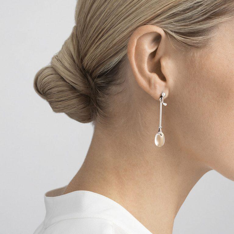 OnModel__3536397 DEW DROP earrings sterling silver rock crystal