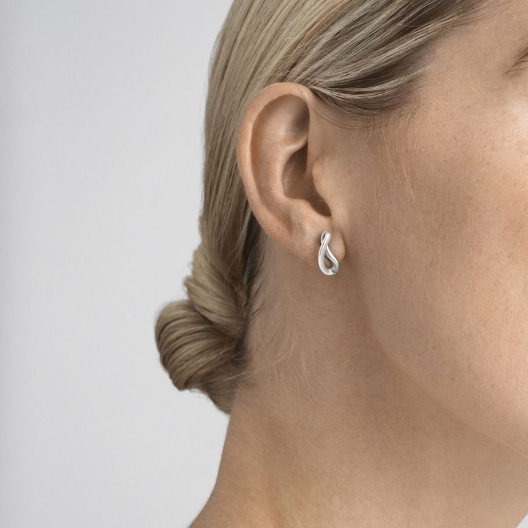 OnModel__3539284 INFINITY earrings sterling silver