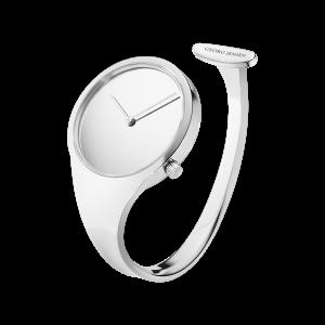 georg jensen vivianna steel 34 mm dial bangle watch