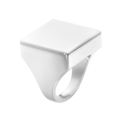 georg jensen Aria square top silver ring