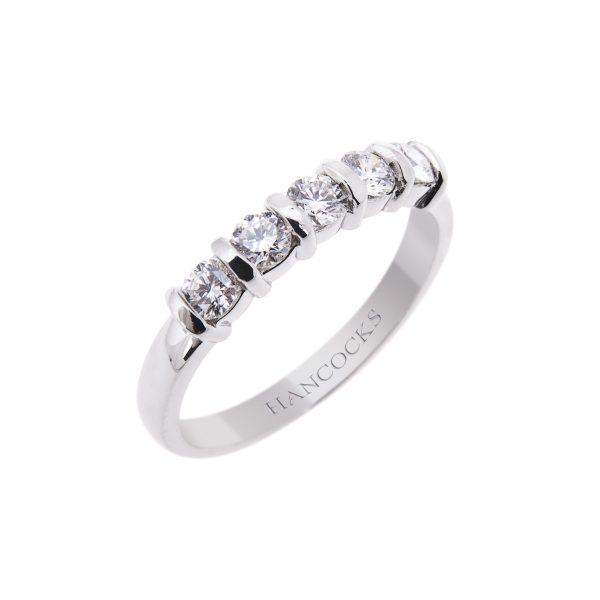 platinum-brilliant-cut-diamond-half-eternity-ring