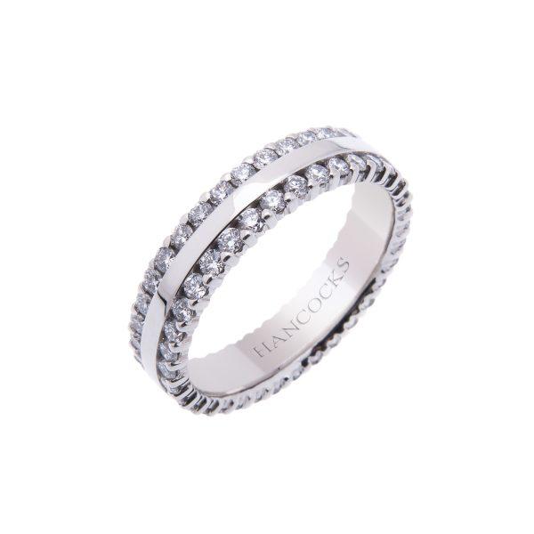 platinum-diamond-set-wedding-band